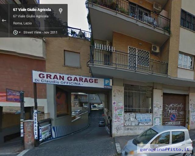 Affittasi garage in buono stato for Garage programma progetti gratuiti